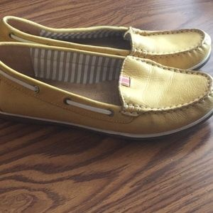 Naturalizer Yellow Loafers